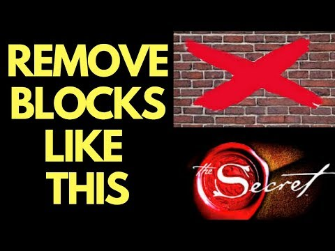 3 Biggest Law of Attraction Blocks and How to Remove Them