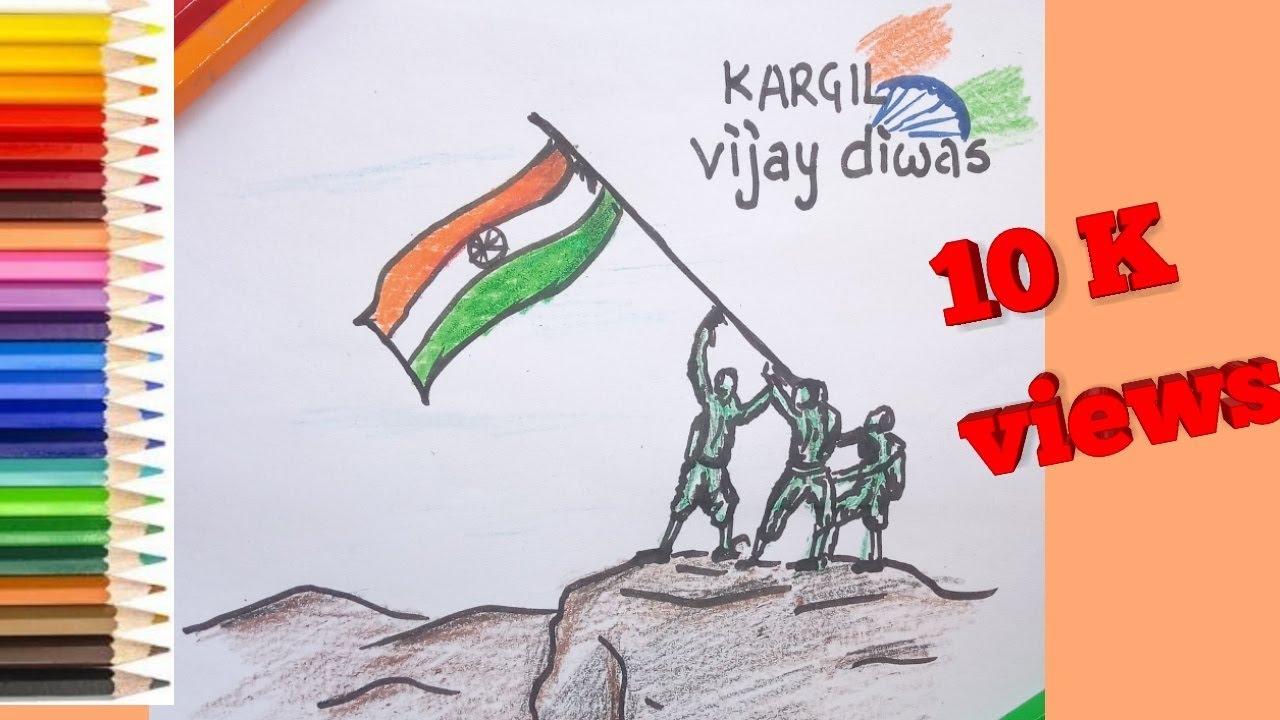 Sketches Of Kargil War Chelss Chapman