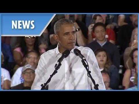 Barack Obama denies wife Michelle is running for president