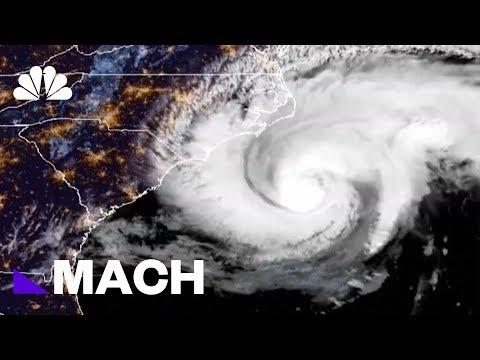 Tracking Hurricane Florence As It Makes Landfall | Mach | NBC News