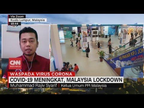 Kasus Covid-19 Meningkat, Malaysia Lockdown