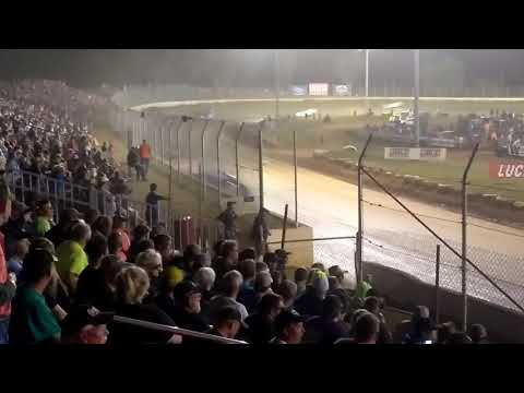 North South Shootout 100 at Florence speedway 8/12/17 crazy last few laps