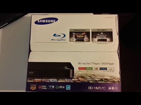 Samsung BD HM57C Blu Ray Player Review