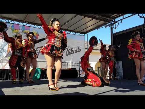 Bolivia Unida Sydney at Bondi Beach Festival of the Winds