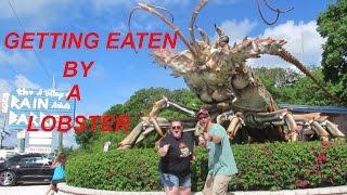 GETTING EATEN BY A LOBSTER!! #FST