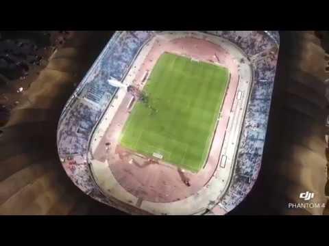 Stade Olympique de Radès Avec Un Drone  (CALIFICATION COUP DE MONDE RUSSIA 2018)