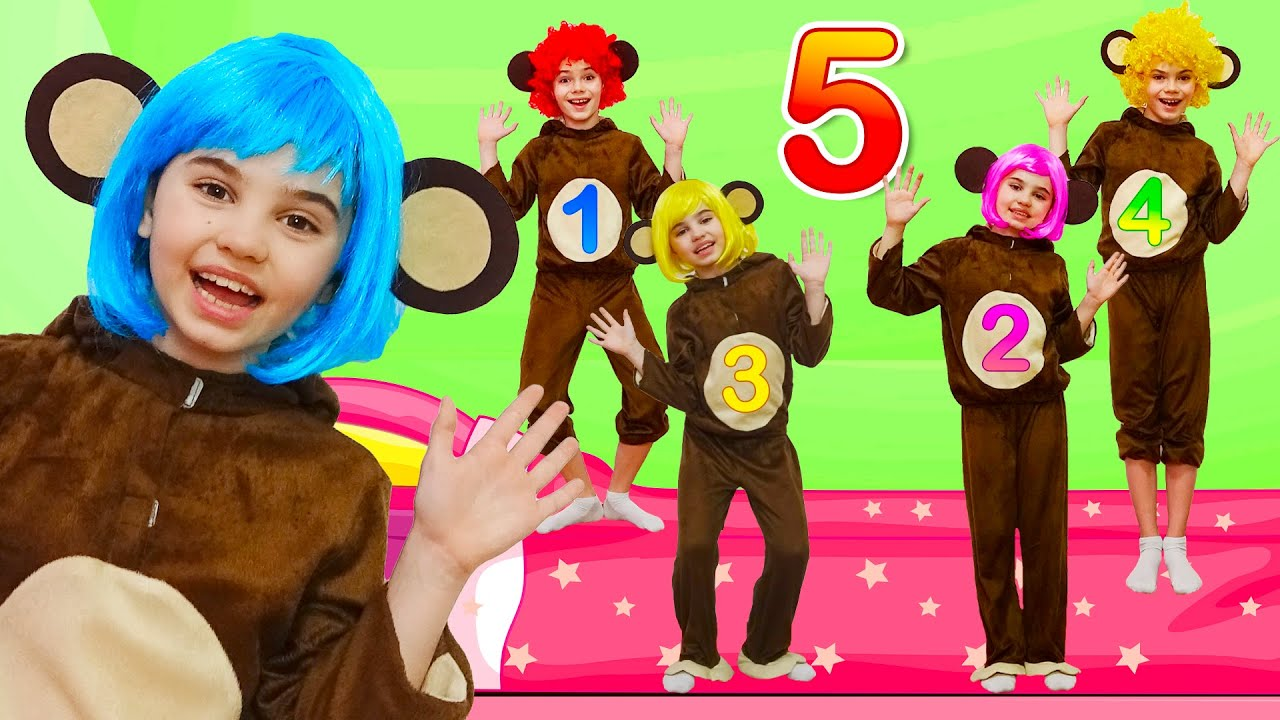 Five Little Monkeys Jumping on the Bed and More Nursery Rhymes and Kids Songs for Childrens