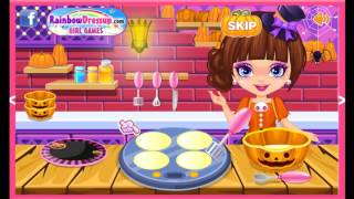 Halloween Spooky Pancakes Cartoon Video Game For Girls