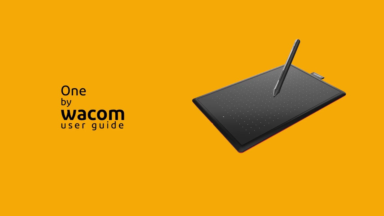 User Guide - Wacom One Graphic Pen Tablet - CTL 472/K0-CX -Tamil