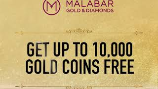 Get up to 10,000 Gold coins FREE at Malabar Gold & Diamonds - UAE