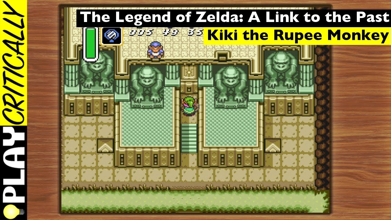 The Legend of Zelda: A Link to the Past — Kiki The Rupee Monkey