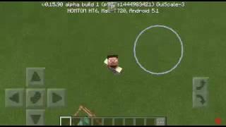 как призвать молнию в Minecraft 0.16.0