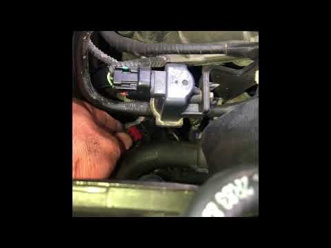 How to replace heater control valve on a jaguar S type