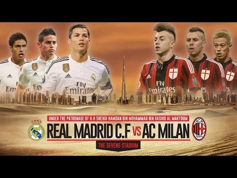 REAL MADRID v AC MILAN | Goals, Highlights, Behind the Scenes | Dubai Football Challenge