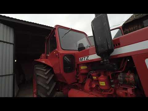 Експортний МТЗ-82. Огляд трактора.