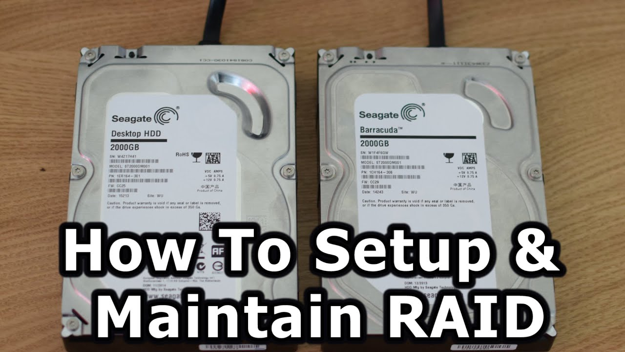 How To Setup RAID on Z97, Z170 & Z270 Motherboards