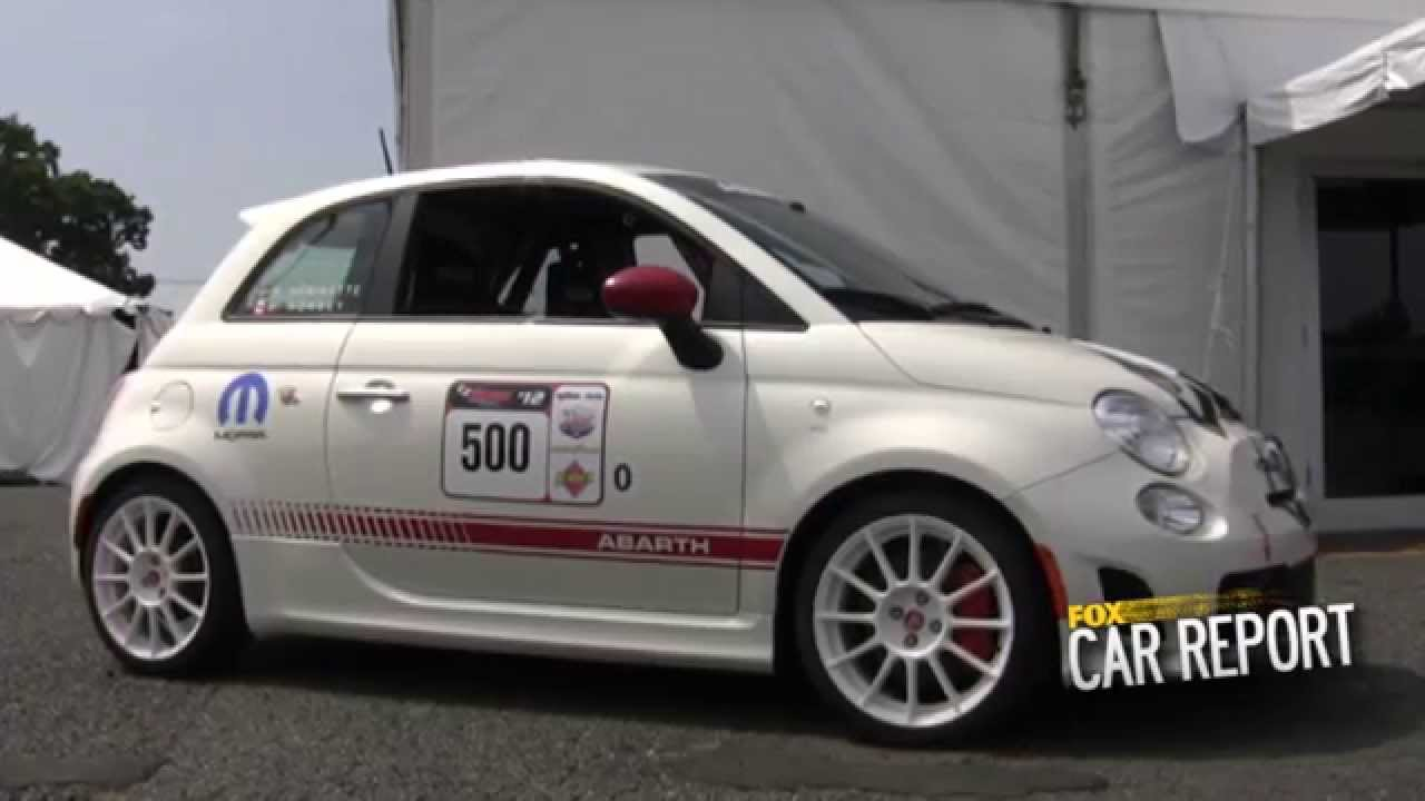 On Track In The Fiat 500 Abarth Youtube