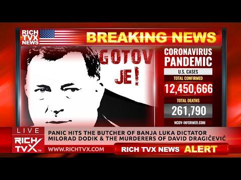 Panic Hits The Butcher of Banja Luka Dictator Milorad Dodik & The Murderers Of David Dragičević