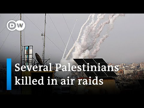 Israel strikes Gaza after rockets fired at Jerusalem | DW Ne