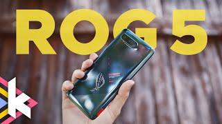 Gaming-PC + Smartphone = ASUS ROG 5 (review)