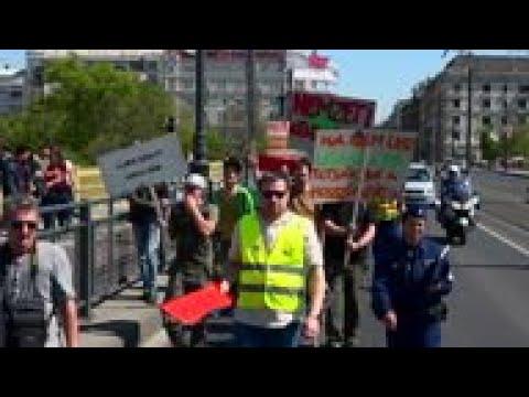 Dozens join Million Marijuana March in Budapest