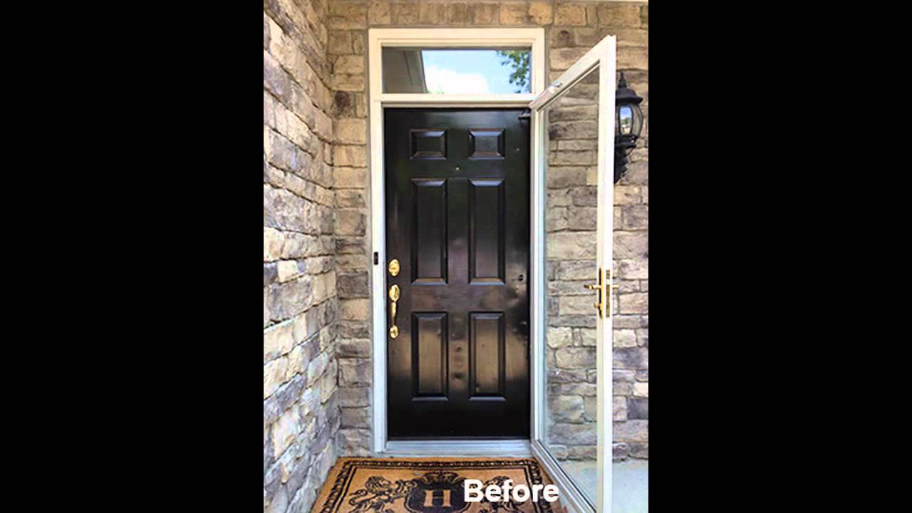 Entry Door with Window That Opens - YouTube