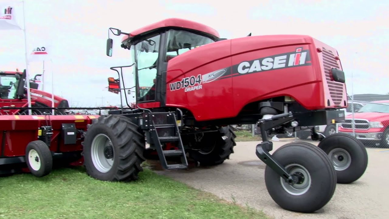 What's new on Case IH Windrowers