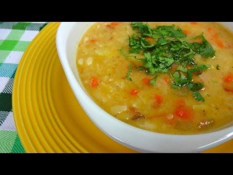 Sopa de Haba - Muy sencilla y Deliciosa!