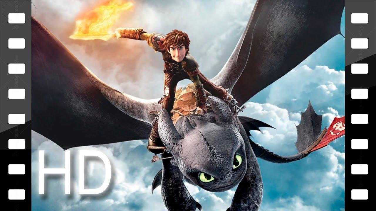Как приручить дракона 2 первый трейлер 2013 - YouTube