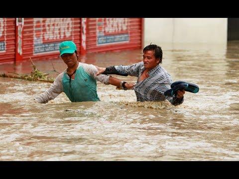 Bhaktapur flooded