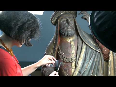 Art Conservation Behind the Scenes