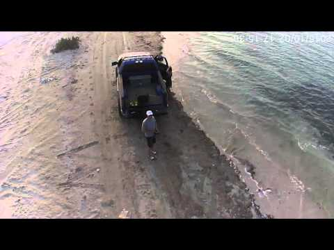 2 10 2015 Yas Island, Abu Dhabi, drone flight and offroad video