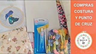 🛒 Compras Costura y Punto de Cruz ✂️ Aliexpress, El Mercadillo, GM...🧵 Telas baratas y económicas