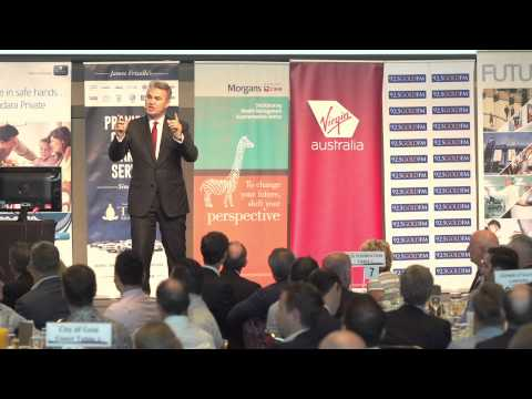 Future Gold Coast launch - TSS Foundation Business Breakfast