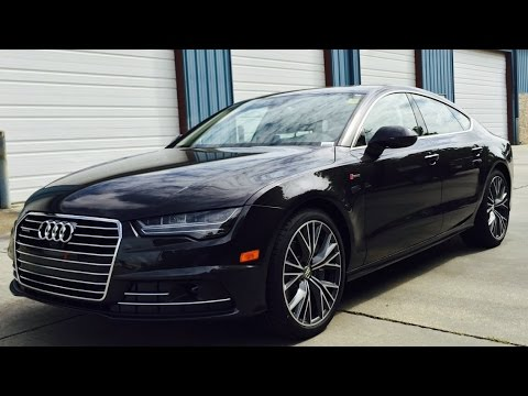 2016 audi a7 3 0t quattro full review start up exhaust. Black Bedroom Furniture Sets. Home Design Ideas