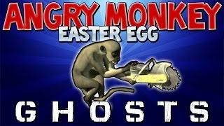 "Cod Ghosts: ""ANGRY MONKEY"" Easter Egg ""BONUS"" Teddy Bear Location on STORMFRONT"