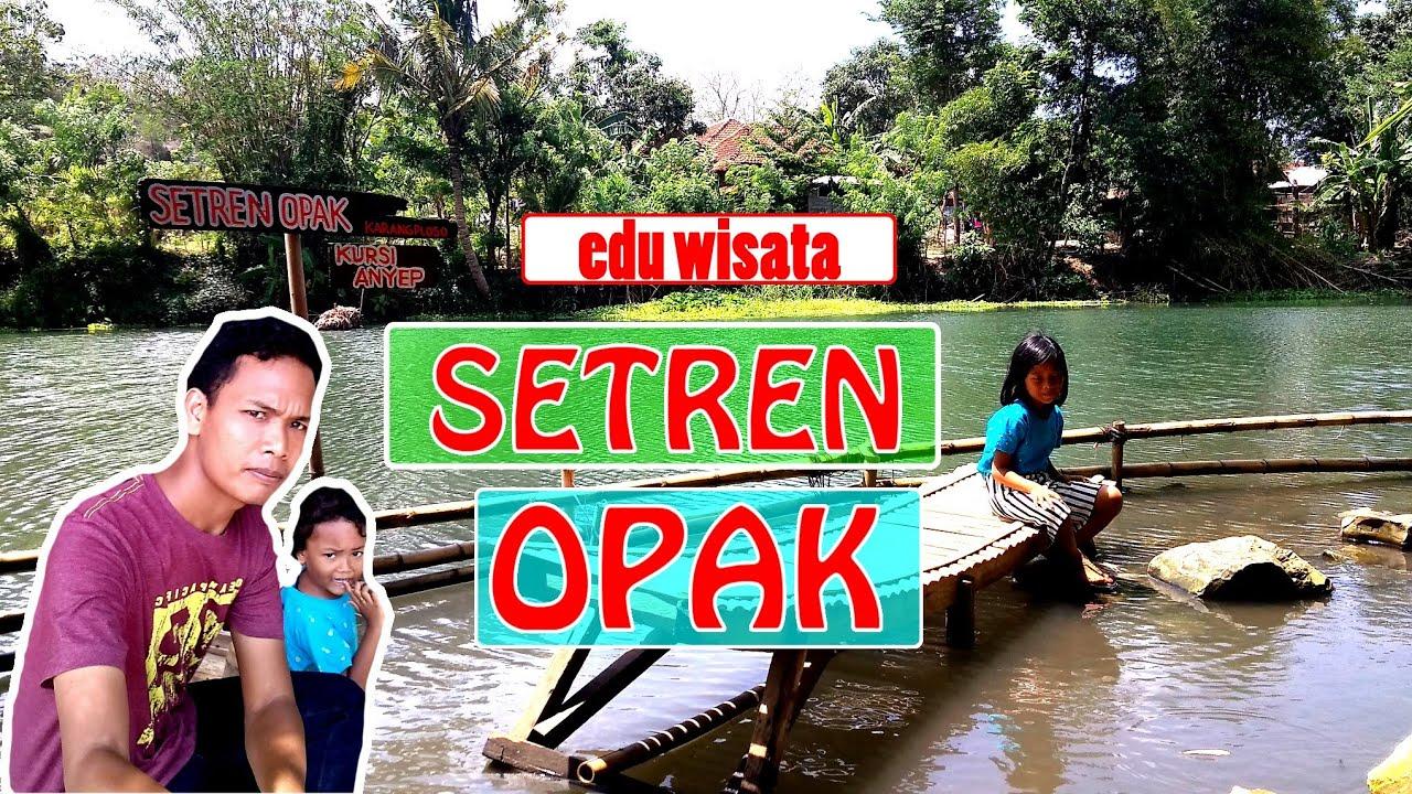 Setren Opak Wisata Sungai Opak Mirip Taman Glugut Youtube