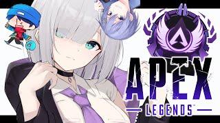 【APEX】青2白1💎ランク【神成きゅぴ / 白雪レイド / らっだぁ / 花芽すみれ】