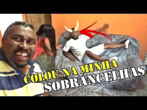 COLEI DOIS CHIFRES NO MEU IRMÃO DEU MERDA