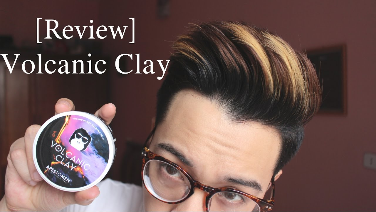 [Review] Apestomen Volcanic Clay || Sáp vuốt tóc NGON BỔ RẺ from Singapore !