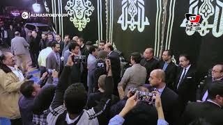 وزير الرياضة ومحمد العدل ومحمود كامل يقدمون واجب العزاء في خالد توحيد