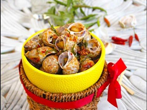 Ốc hương xào tỏi ớt – Hướng dẫn nấu ăn – Món ngon mỗi ngày – Món ngon dễ làm