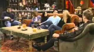 Friends cast interview with bloopers