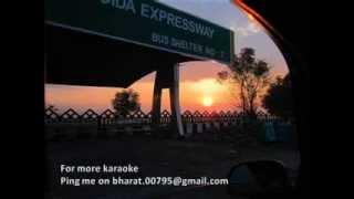 Yunhi Chala Chal Rahi - Karaoke