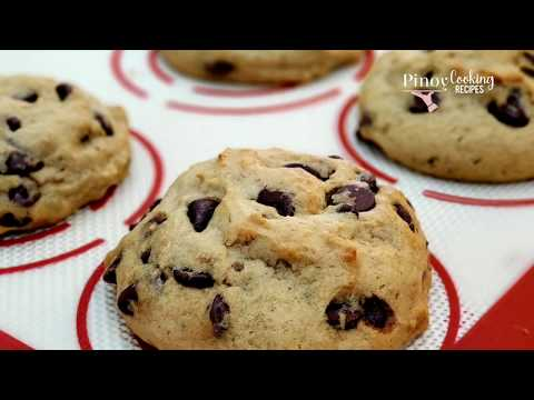 Banana Chocolate Chip Cookies | Soft, Thick & Chewy