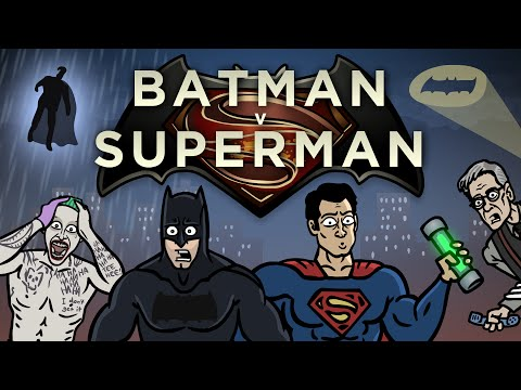 Batman v Superman Trailer Spoof - TOON SANDWICH