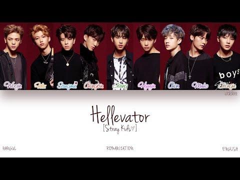 [HAN|ROM|ENG] Stray Kids (스트레이 키즈) - Hellevator (Color Coded Lyrics)