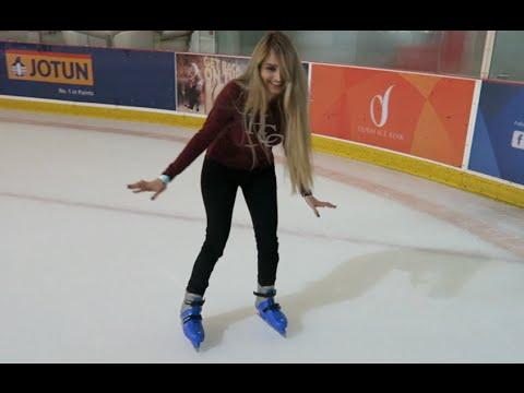 She SUCKS at Ice Skating !