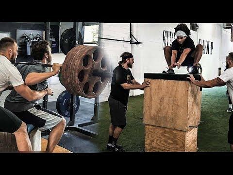Lateral Plyometrics and Box Squats | Overtime Athletes