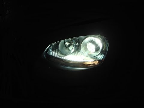 VW Golf MK5 OEM Xenon Headlights